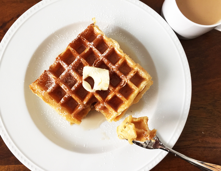 Waffles … Really Good Waffles