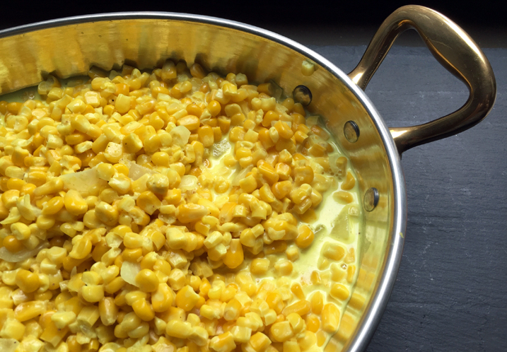 Alton Brown's Creamed Corn Recipe