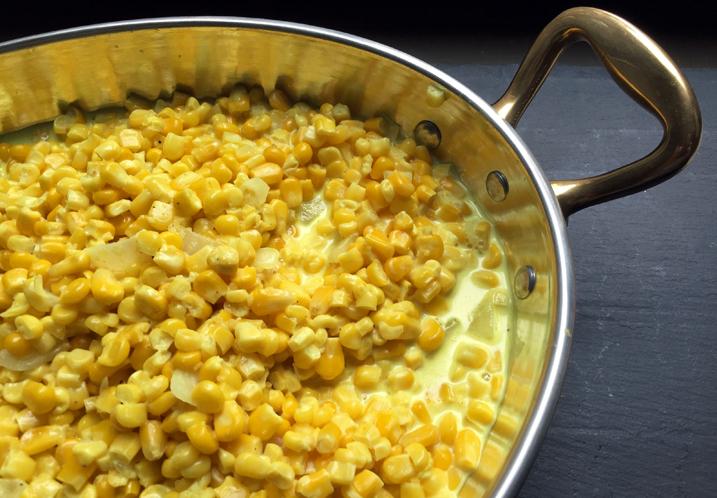 Alton Brown's Creamed Corn Recipe