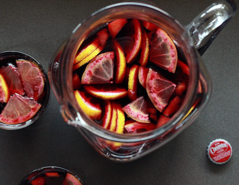 Alton browns cheerwine sangria recipe cheerwine sangria thecheapjerseys Choice Image