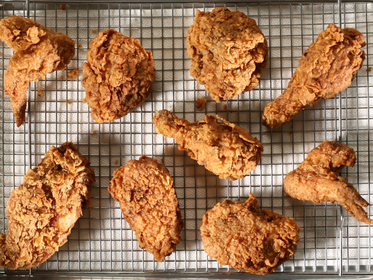 Fried Chicken from Good Eats Reloaded